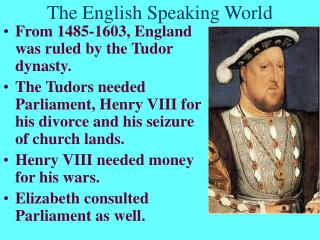 The English Speaking World