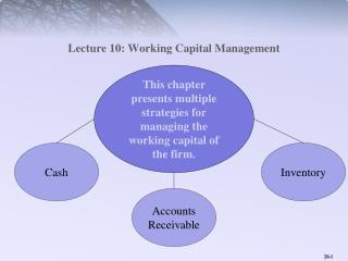 Lecture 10: Working Capital Management