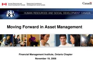 Moving Forward in Asset Management