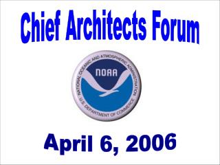 Chief Architects Forum