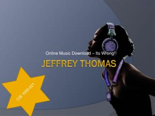 Jeffrey Thomas