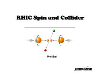 RHIC Spin and Collider