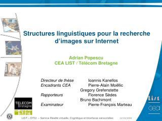 LIST – DTSI  – Service Réalité virtuelle, Cognitique et Interfaces sensorielles