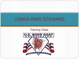 USBGA RING STEWARD