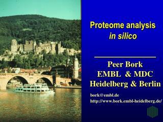 bork@embl.de bork.embl-heidelberg.de/