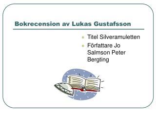 Bokrecension av Lukas Gustafsson