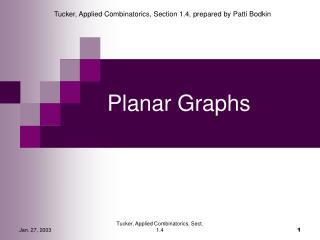 Planar Graphs