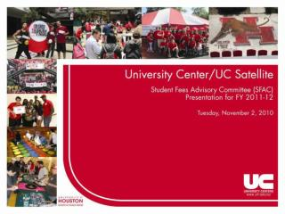 In celebration of our diverse campus community, the University Centers enrich
