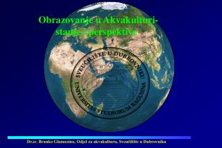 Obrazovanje u Akvakulturi-         stanje i perspektive
