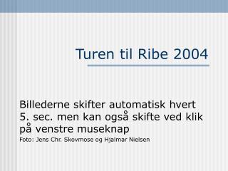 Turen til Ribe 2004