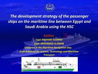 Authors Capt: HESHAM ELSAYAD                   Capt: MOHAMED A.OMAR
