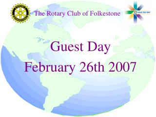 Guest Day  February 26th 2007