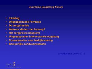 Duurzame jeugdzorg Almere