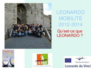 LEONARDO MOBILITÉ 2012-2014