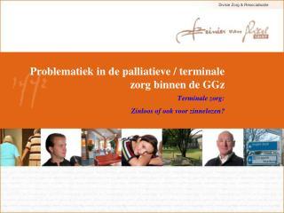 Problematiek in de palliatieve / terminale zorg binnen de GGz