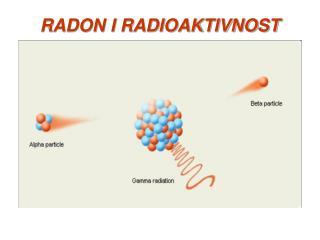 RADON I RADIOAKTIVNOST