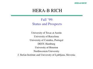 HERA-B RICH