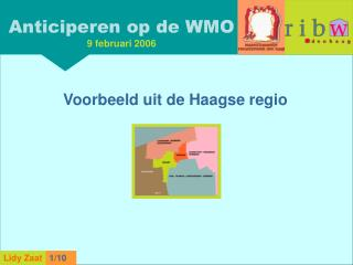 Anticiperen op de WMO 9 februari 2006