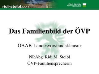 Das Familienbild der ÖVP