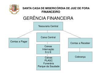 SANTA CASA DE MISERIC RDIA DE JUIZ DE FORA             FINANCEIRO