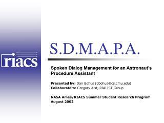 S.D.M.A.P.A.