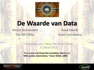 De Waarde van Data