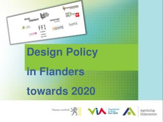 Design Policy  in Flanders  towards 2020