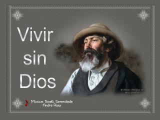 Vivir  sin  Dios