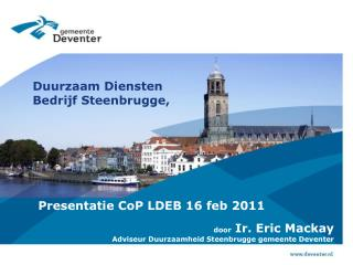 Duurzaam Diensten Bedrijf Steenbrugge,