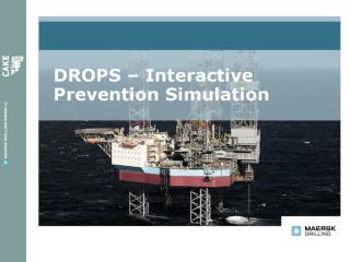 DROPS simulator - konspetet