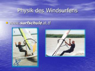 Physik des Windsurfens