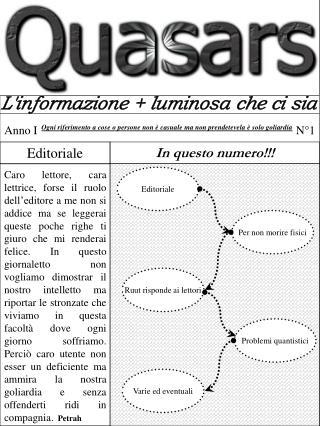 L'informazione + luminosa che ci sia