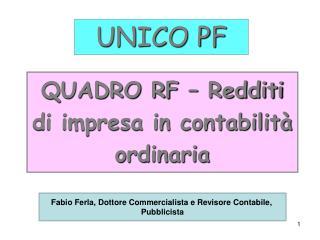 UNICO PF