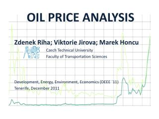 OIL PRICE ANALYSIS