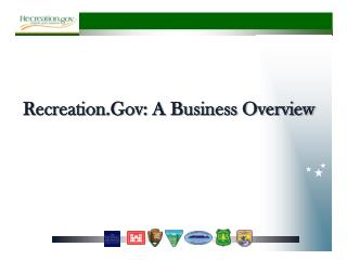 Recreation.Gov : A Business Overview