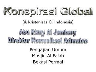 (& Kristenisasi Di Indonesia)