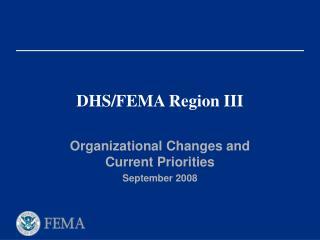DHS/FEMA Region III