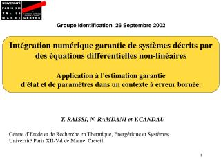 Groupe identification  26 Septembre 2002