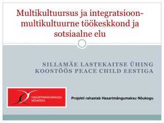 Multikultuursus ja integratsioon - multikultuurne töökeskkond ja sotsiaalne elu