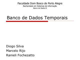 Banco de Dados Temporais