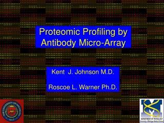 Proteomic Profiling by  Antibody Micro-Array