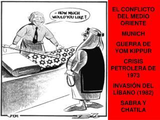 EL CONFLICTO DEL MEDIO ORIENTE MUNICH GUERRA DE YOM KIPPUR CRISIS PETROLERA DE 1973