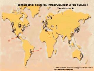 KTU Mikrosistemų ir nanotechnologijos mokslinis centras microsys.ktu.lt