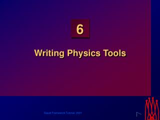 Writing Physics Tools