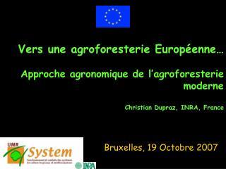 Bruxelles, 19 Octobre 2007