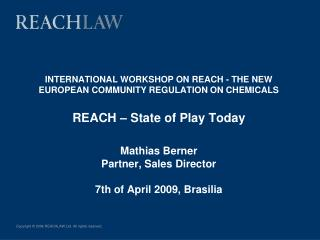 REACHLaw Introduction