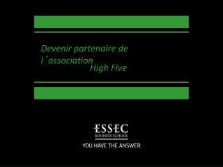 Devenir partenaire de l ' association