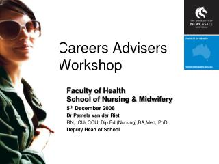 Careers Advisers Workshop
