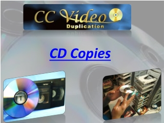 CD Copies