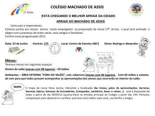 COL�GIO MACHADO DE ASSIS